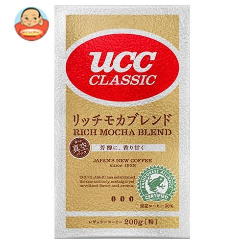 UCC クラシック リッチモカブレンド(粉) 200g袋×24袋入
