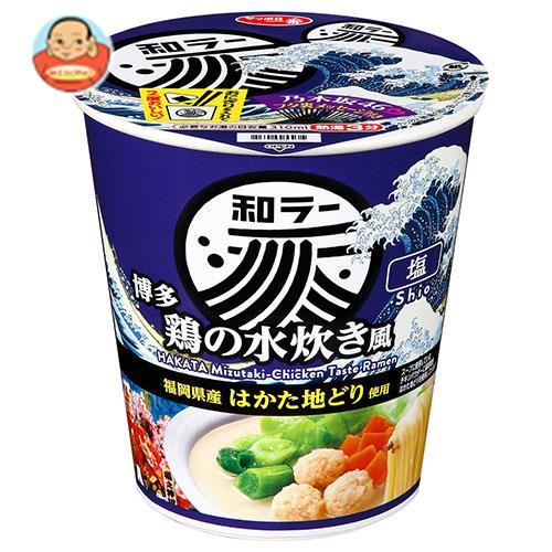 サンヨー食品 サッポロ一番 和ラー 博多 鶏の水炊き風 73g×12個入