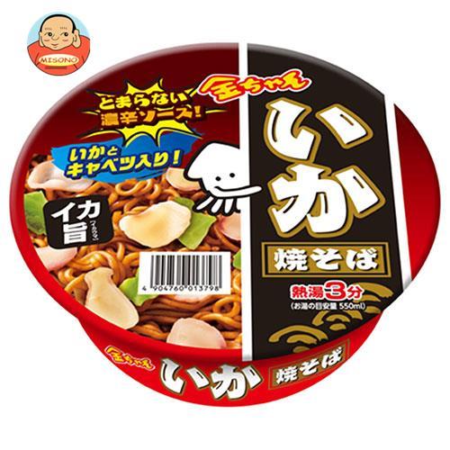 徳島製粉 金ちゃん いか焼そば 129g×12個入