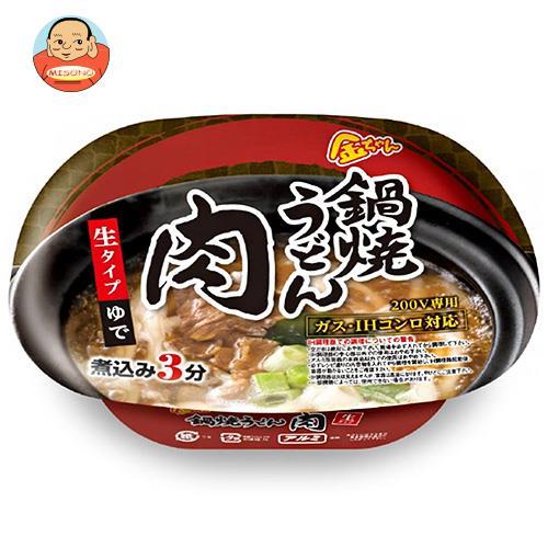 徳島製粉 金ちゃん 鍋焼うどん 肉 214g×12個入