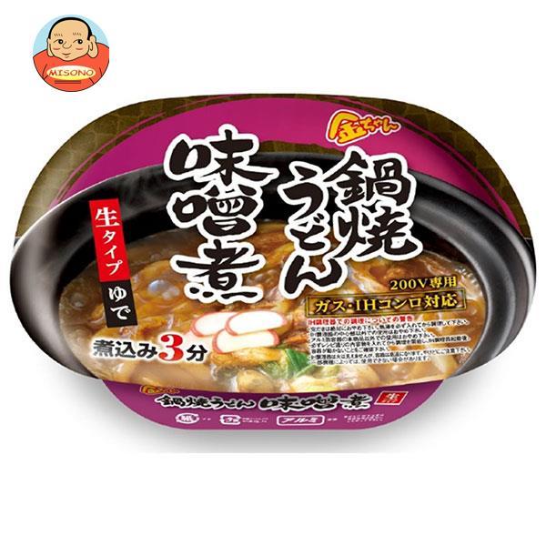 徳島製粉 金ちゃん 鍋焼うどん 味噌煮 215g×12個入