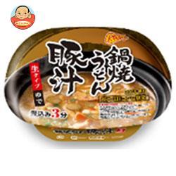 徳島製粉 金ちゃん 鍋焼うどん 豚汁 233g×12個入