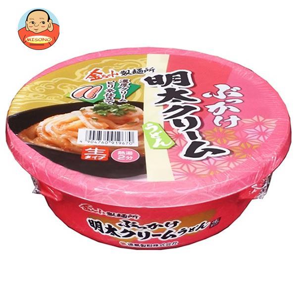 徳島製粉 金ちゃん ぶっかけ明太クリーム 168g×12個入