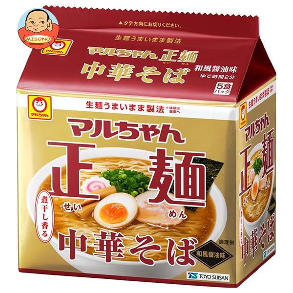 東洋水産 マルちゃん正麺 中華そば 和風醤油 (108g×5食)×6個入