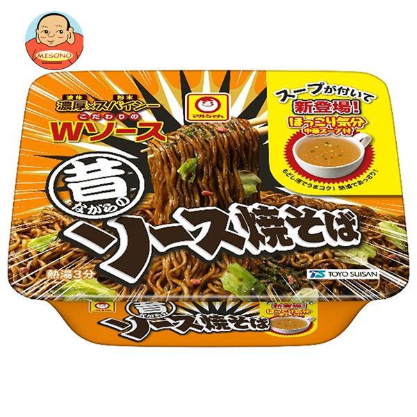 東洋水産 マルちゃん 昔ながらのソース焼そば 132g×12個入
