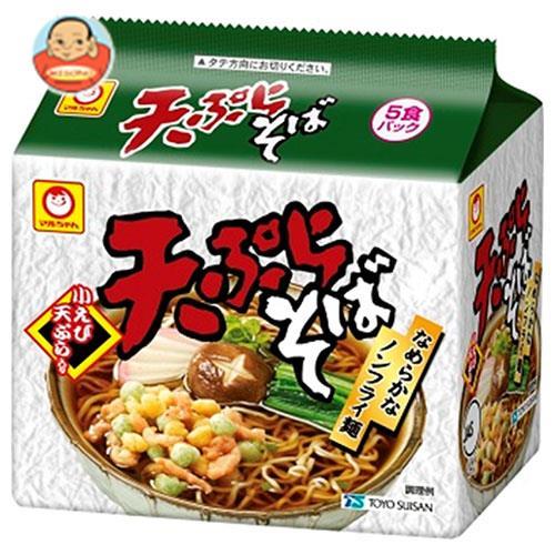 東洋水産 天ぷらそば 5食パック×6袋入