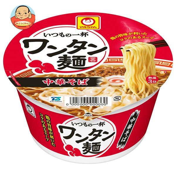 東洋水産 いつもの一杯 ワンタン麺 中華そば 97g×12個入