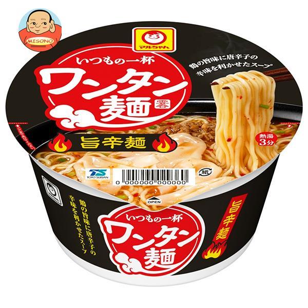東洋水産 いつもの一杯 ワンタン麺 旨辛麺 79g×12個入