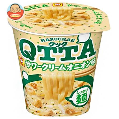 東洋水産 MARUCHAN QTTA(マルチャン クッタ) サワークリームオニオン味 87g×12個入