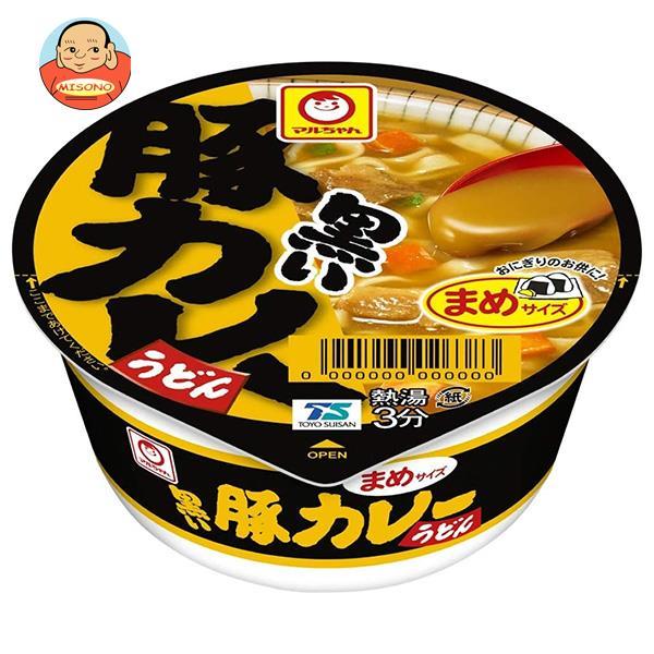 東洋水産 マルちゃん 黒いまめ豚カレーうどん 42g×24個入