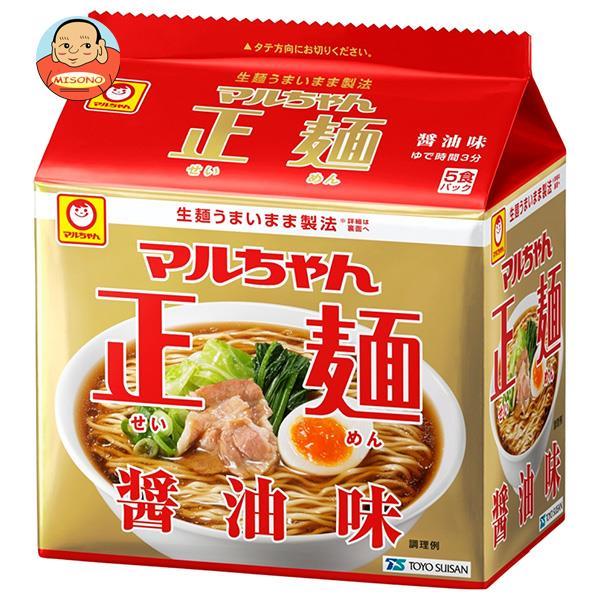 東洋水産 マルちゃん正麺 醤油味 (105g×5食)×6個入
