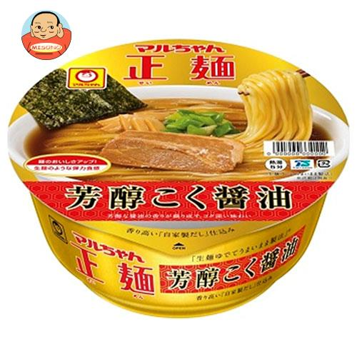 東洋水産 マルちゃん正麺 カップ 芳醇こく醤油 119g×12個入