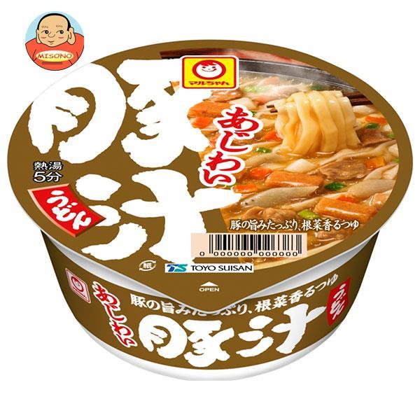 東洋水産 マルちゃん あつあつ豚汁うどん 109g×12個入