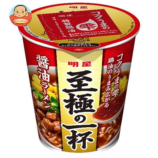 明星食品 至極の一杯 鶏コク醤油ラーメン 66g×12個入