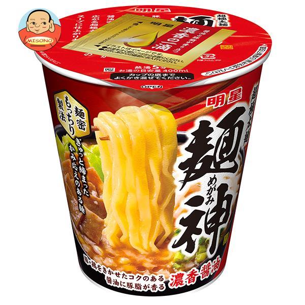明星食品 麺神 神太麺×旨 醤油 94g×12個入