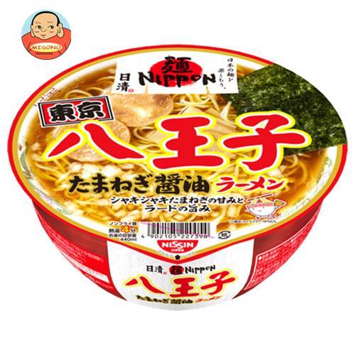 日清食品 麺ニッポン 八王子たまねぎ醤油ラーメン 112g×12個入