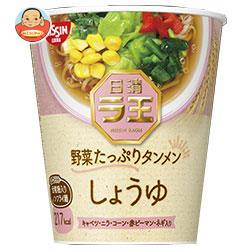 日清食品 日清ラ王 野菜たっぷりタンメン しょうゆ 57g×12個入