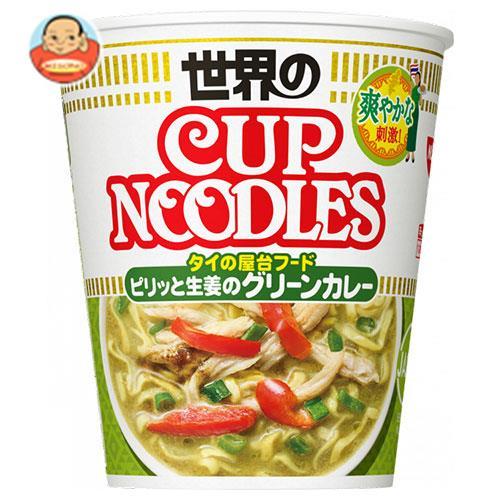 日清食品 カップヌードル ピリッと生姜のグリーンカレー 80g×12個入