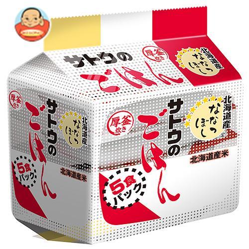 サトウ食品 サトウのごはん 北海道産ななつぼし 5食パック 200g×5食×8個入