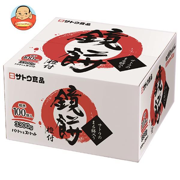 サトウ食品 サトウの鏡餅 まる餅入り 3300g×1個入