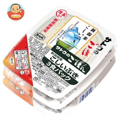 サトウ食品 サトウのごはん 新潟県産こしいぶき 3食パック 200g×3食×12個入