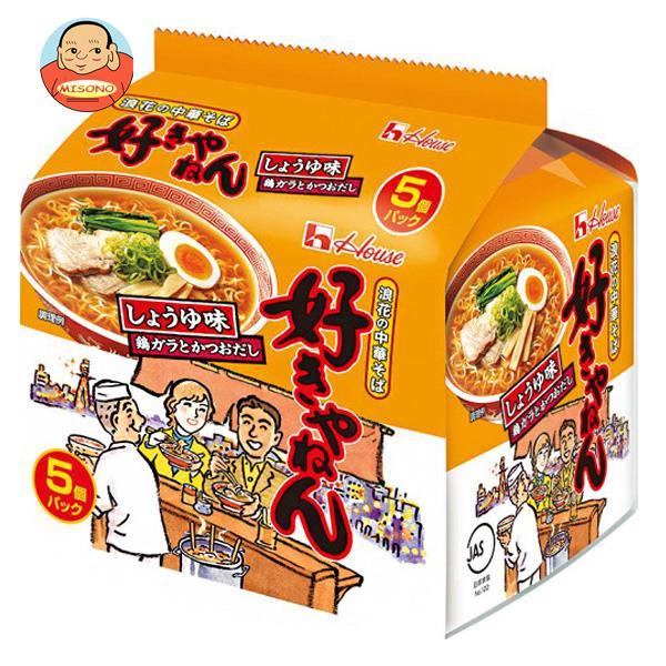 ハウス食品 浪花の中華そば 好きやねん(しょうゆ味) 5食パック×6個入