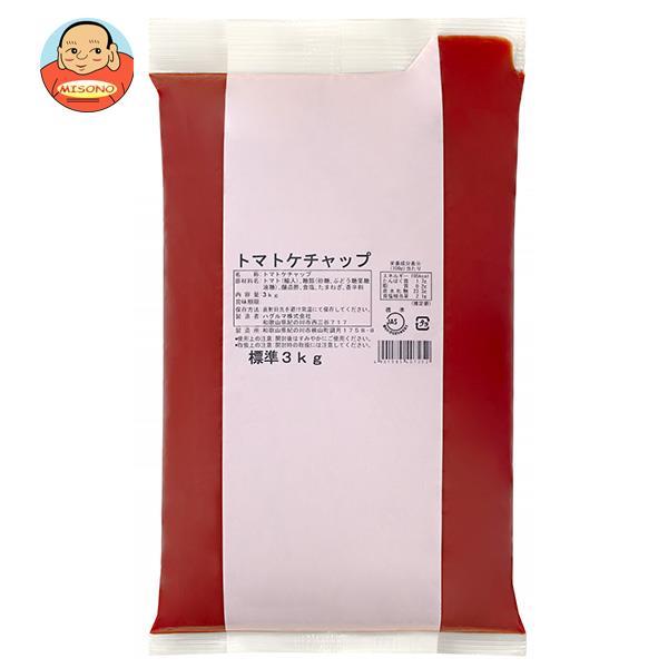 ハグルマ JAS標準 トマトケチャップ 3kg袋パック×4袋入
