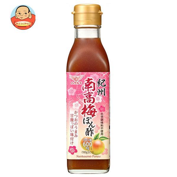 ハグルマ 紀州 南高梅ぽん酢 200ml瓶×12本入