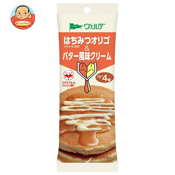アヲハタ ヴェルデ ハチミツオリゴ&バター風味クリーム (13g×4個)×12袋入