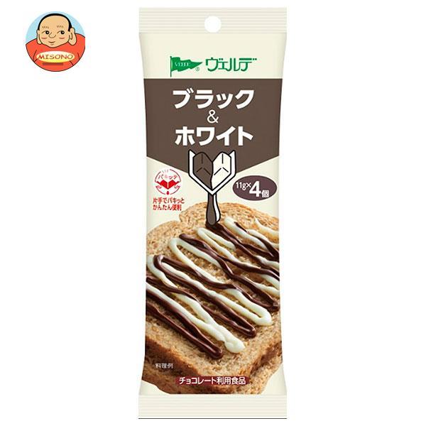 アヲハタ ヴェルデ ブラック&ホワイト (11g×4個)×12袋入