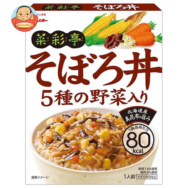 グリコ 菜彩亭 そぼろ丼 140g×10個入