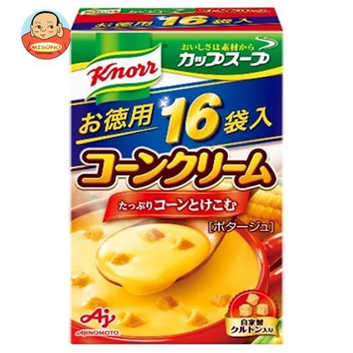 味の素 クノールカップスープ つぶたっぷりコーンクリーム 16袋入 264g×3個入