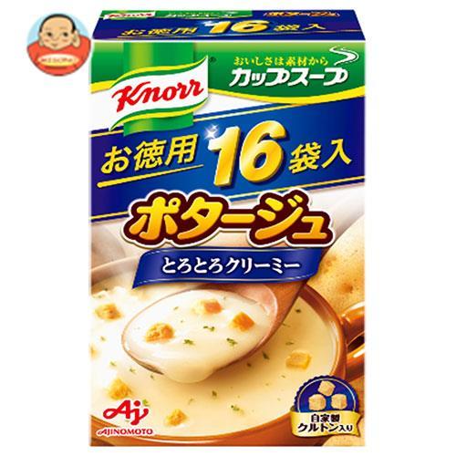 味の素 クノールカップスープ ポタージュ 16袋入 272g×3個入