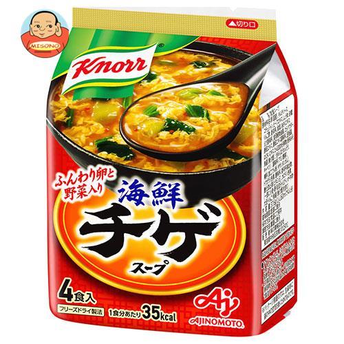 味の素 クノール海鮮チゲ スープ 4食入 37.6g×10袋入