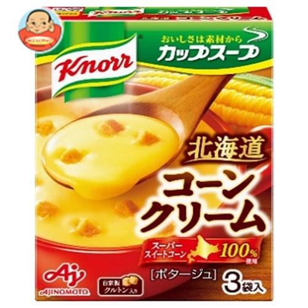 味の素 クノール カップスープ コーンクリーム (18.2g×3袋)×10箱入