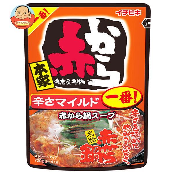 イチビキ ストレート 赤から鍋スープ 1番 750g×10袋入