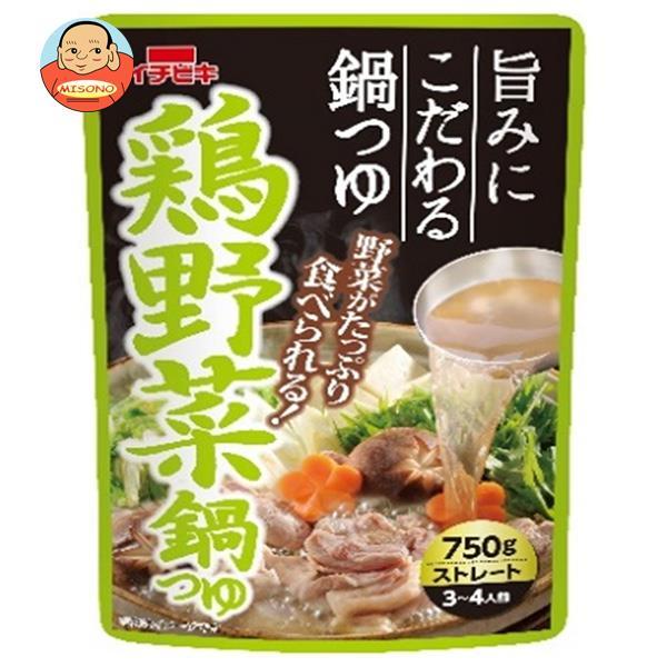 イチビキ ストレート 鶏野菜鍋つゆ 750g×10袋入