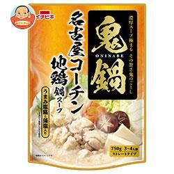 イチビキ ストレート鬼鍋 名古屋コーチン地鶏鍋スープ 750g×10袋入