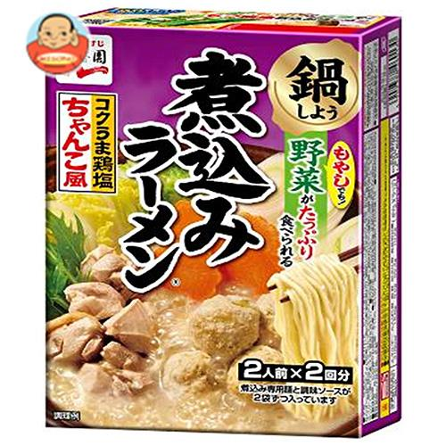 永谷園 煮込みラーメン コクうま鶏塩ちゃんこ風 4人前×6箱入