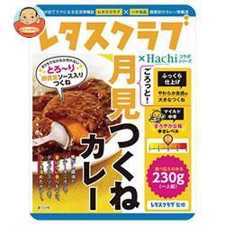ハチ食品 レタスクラブ コラボシリーズ ごろっと月見つくねカレー 230g×20(10×2)袋入