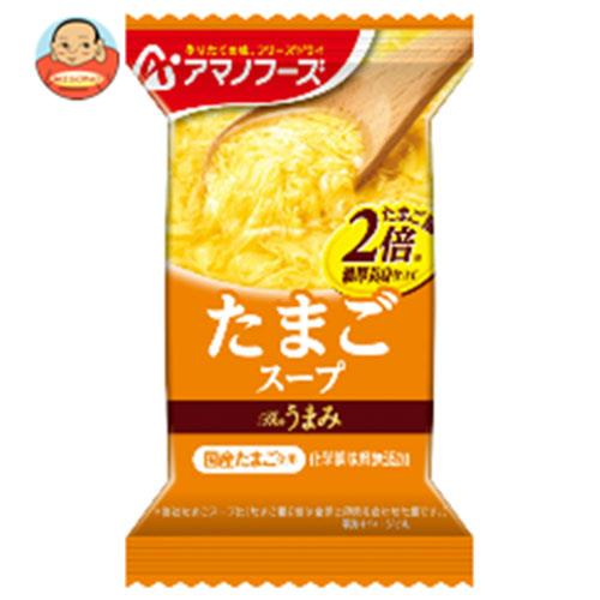 アマノフーズ フリーズドライ Theうまみ たまごスープ 10食×6箱入