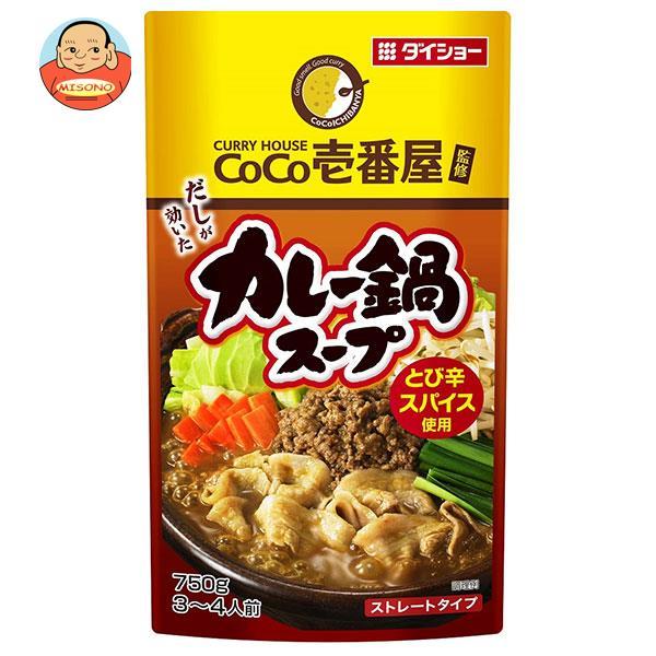 ダイショー CoCo壱番屋監修 カレー鍋スープ 750g×10袋入