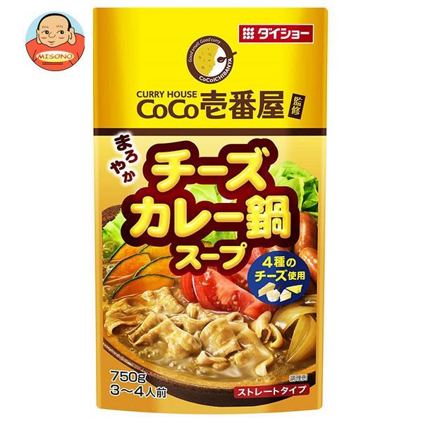 ダイショー CoCo壱番屋監修 チーズカレー鍋スープ 750g×10袋入