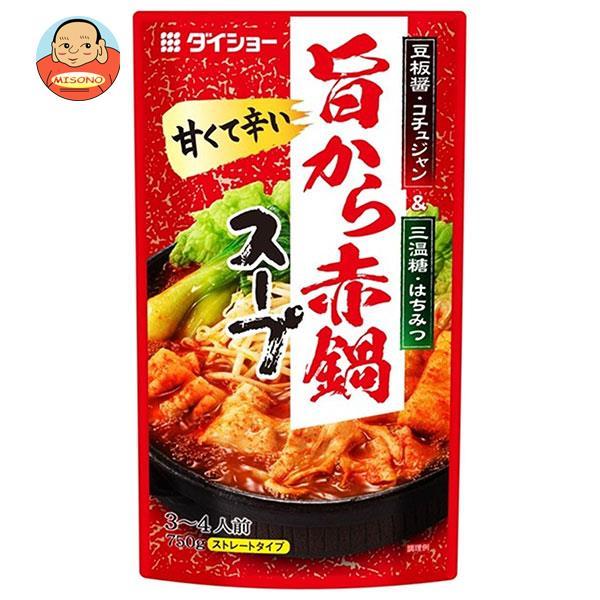 ダイショー 旨から赤鍋スープ 750g×10袋入