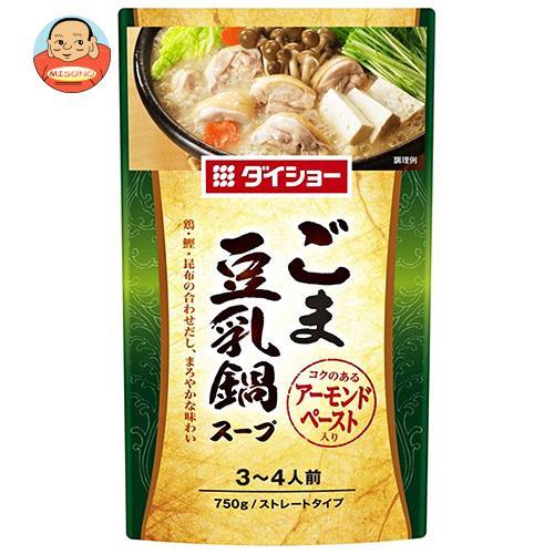 ダイショー ごま豆乳鍋スープ 750g×10本入
