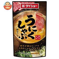 ダイショー うにくしゃぶ鍋用スープ 700g×10本入