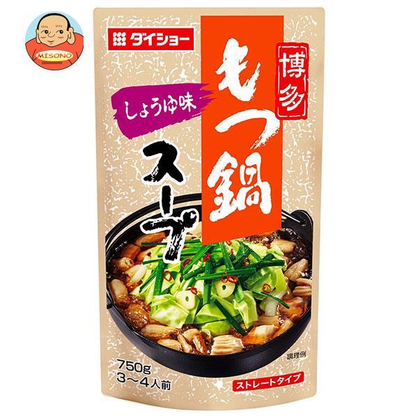 ダイショー 博多もつ鍋スープ しょうゆ味 750g×10袋入