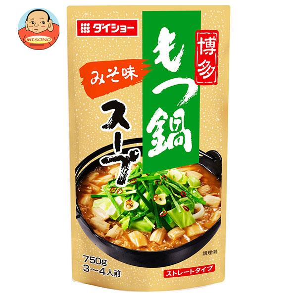 ダイショー 博多もつ鍋スープ みそ味 750g×10袋入
