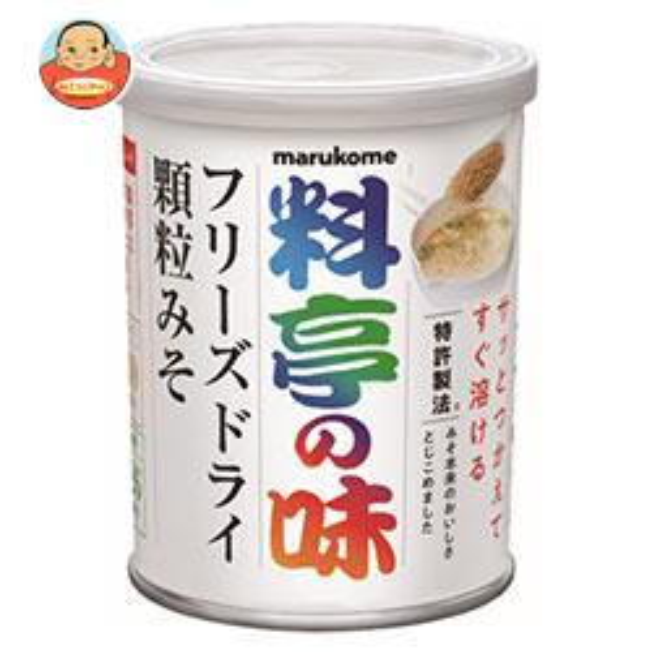 マルコメ 料亭の味 フリーズドライ 顆粒みそ 200g缶×6個入