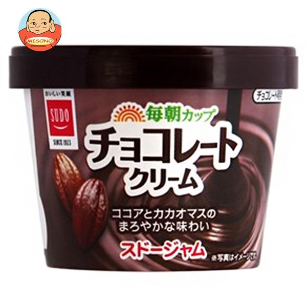 スドージャム スドー 毎朝カップ チョコレートクリーム 135g×12個入